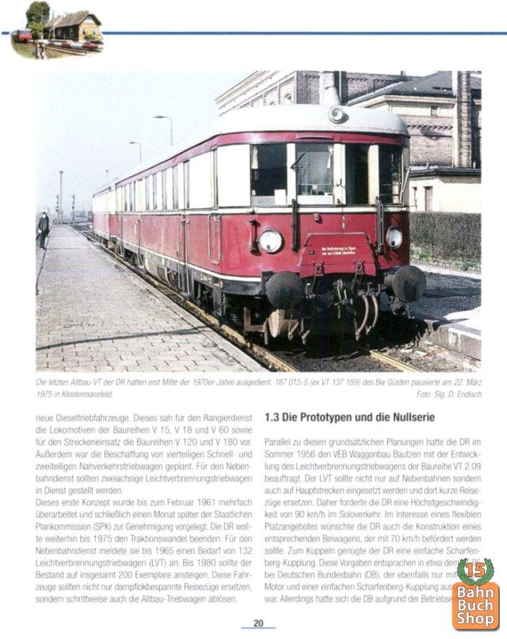 Fachbuch Die Ferkeltaxe Loklegenden Baureihe LVT 2.09 Deutsche Reichsbahn DR