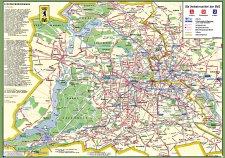 Liniennetz Stadtplan Bvg West Mai 1960 Nachdruck Bahnbuchshop De
