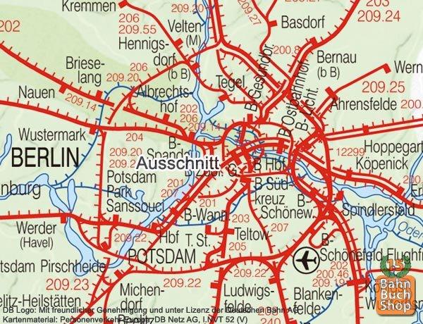 Db Karte Berlin.Bahnbuchshop